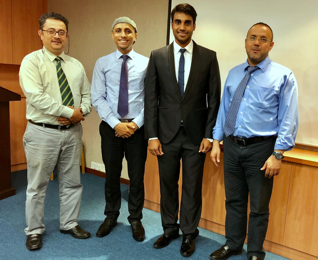 PhD Research proposal defence at Lincoln University College, Malaysia