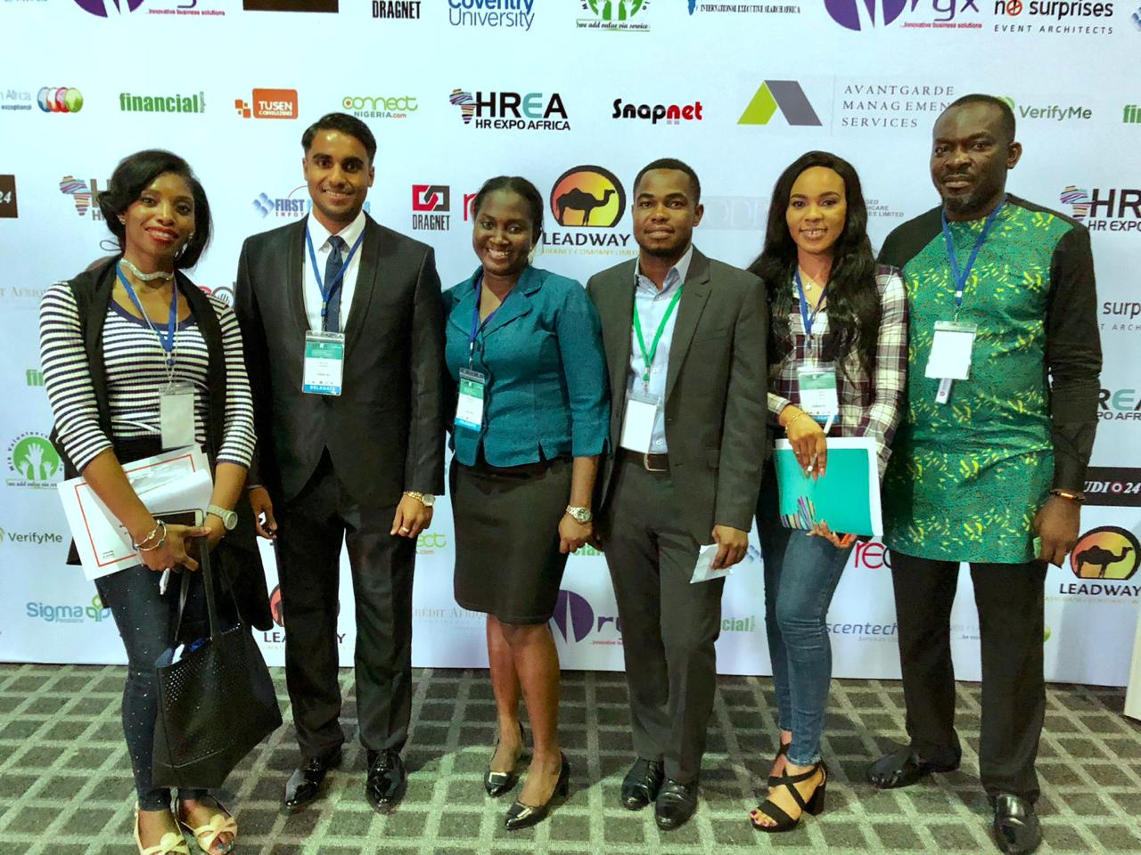 The Delegates at HREA (HR Expo Africa)