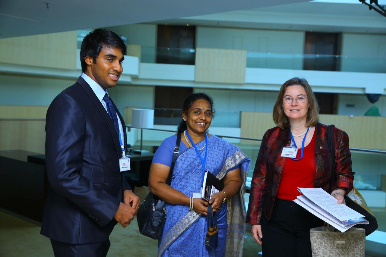 Delegation at USA- India Indo Chamber of Commerce event at Hyatt hotel, Chennai